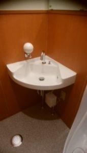 トイレ工事手洗い器