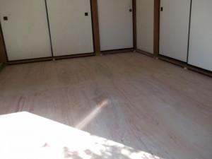 和室の床下地