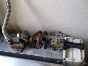 バランス釜出湯栓修理交換後