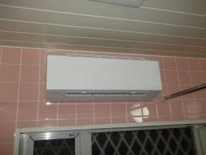 浴室暖房乾燥換気扇ホットドライ