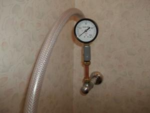 水圧測定専用治具